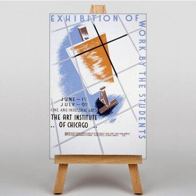 Big Box Art Exhibition No.24 Vintage Advertisement on Canvas