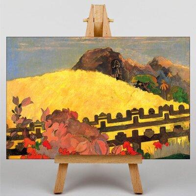 Big Box Art Landscape by Paul Gauguin Art Print on Canvas