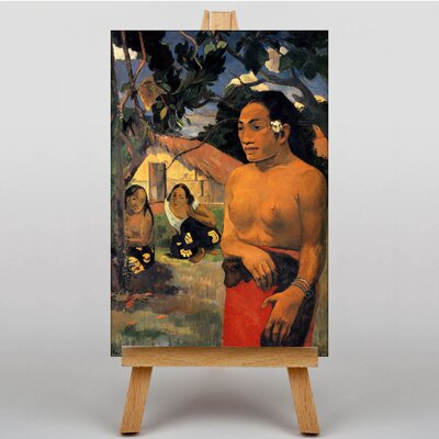 Big Box Art Where are You Going by Paul Gauguin Art Print on Canvas