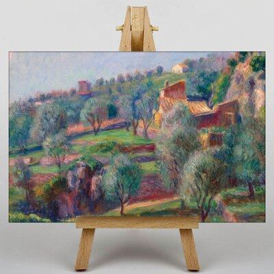 Big Box Art Farmland Landscape by William Glackens Art Print on Canvas
