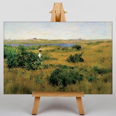 Big Box Art Summer at Shinnecock Hills by William Merritt Chase Art Print on Canvas