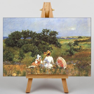 Big Box Art The Fairytale by William Merritt Chase Art Print on Canvas