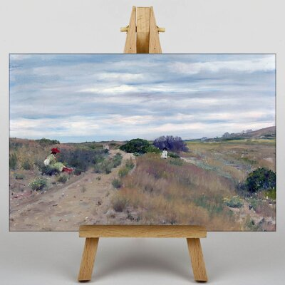 Big Box Art The Old Sand Road by William Merritt Chase Art Print on Canvas