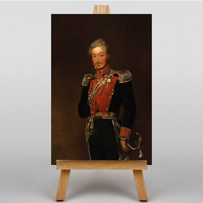 Big Box Art Charles King by William Salter Art Print on Canvas