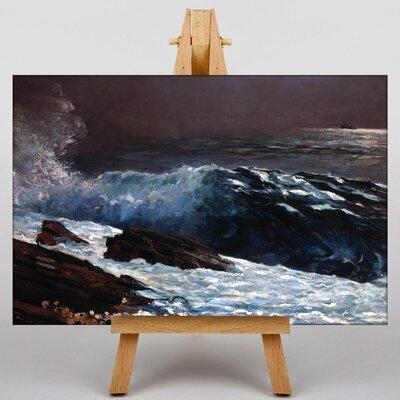 Big Box Art Sunlight on the Coast by Winslow Homer Art Print on Canvas