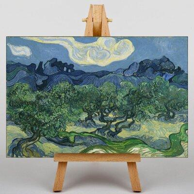 Big Box Art The Olive Trees by Vincent Van Gogh Art Print on Canvas
