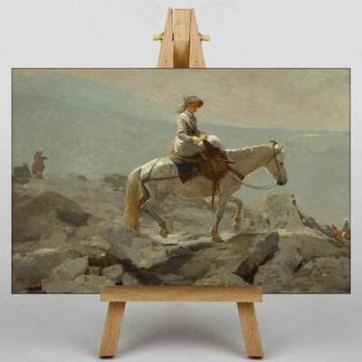 Big Box Art The Bridle Path by Winslow Homer Art Print on Canvas
