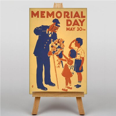 Big Box Art Memorial Day Vintage Advertisement on Canvas