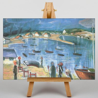 Big Box Art Harbour by Walter Gramatte Art Print on Canvas