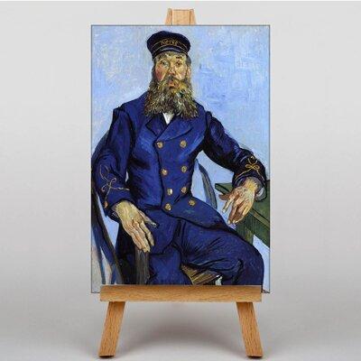 Big Box Art The Postman Joseph Roulin by Vincent Van Gogh Art Print on Canvas