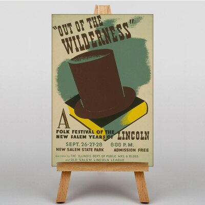 Big Box Art Out of the Wilderness Vintage Advertisement on Canvas