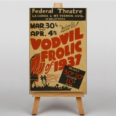 Big Box Art Vordvil Frolic Vintage Advertisement on Canvas