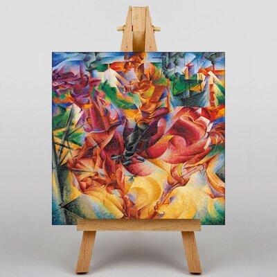 Big Box Art Elasticity by Umberto Boccioni Art Print on Canvas
