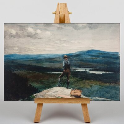Big Box Art The Ranger Adirondacks by Winslow Homer Art Print on Canvas