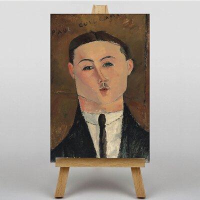 Big Box Art Portrait No.1 by Amedeo Modigliani Art Print on Canvas
