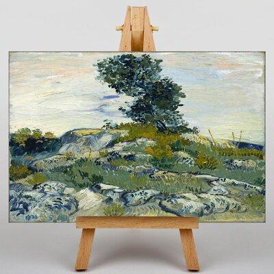 Big Box Art The Rocks by Vincent Van Gogh Art Print on Canvas