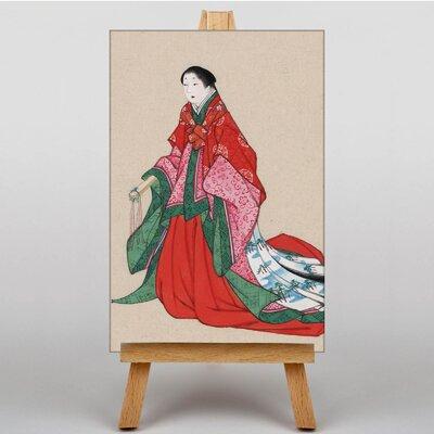 Big Box Art Woman Japanese Oriental Art Print on Canvas