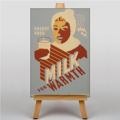 Big Box Art Milk No.3 Vintage Advertisement on Canvas