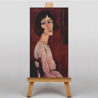 Big Box Art Portrait of Margarita by Amedeo Modigliani Art Print on Canvas