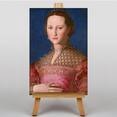 Big Box Art Eleanor of Toledo by Agnolo Bronzino Art Print on Canvas