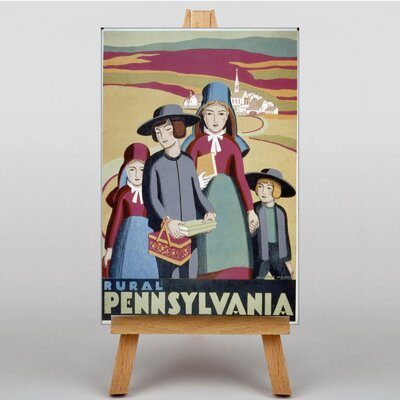 Big Box Art Pennsylvania No.4 Graphic Art on Canvas