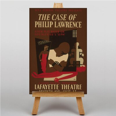 Big Box Art The Case of Philip Lawrence Vintage Advertisement on Canvas