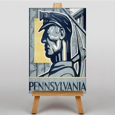 Big Box Art Pennsylvania Graphic Art on Canvas