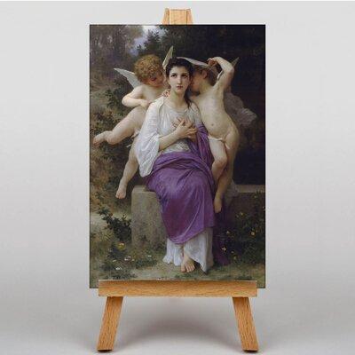 Big Box Art Levil du Coer by William Adolphe Bouguereau Art Print on Canvas