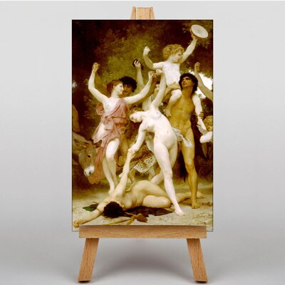 Big Box Art Youth of Bacchus by William Adolphe Bouguereau Art Print on Canvas
