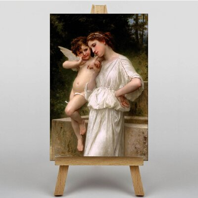 Big Box Art Secrets I Love by William Adolphe Bouguereau Art Print on Canvas