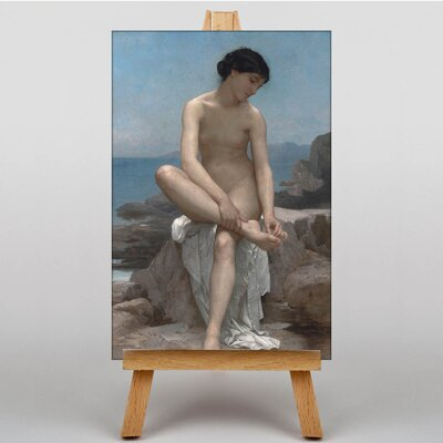 Big Box Art The Bather by William Adolphe Bouguereau Art Print on Canvas