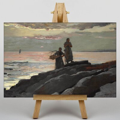 Big Box Art Saco Bay by Winslow Homer Art Print on Canvas