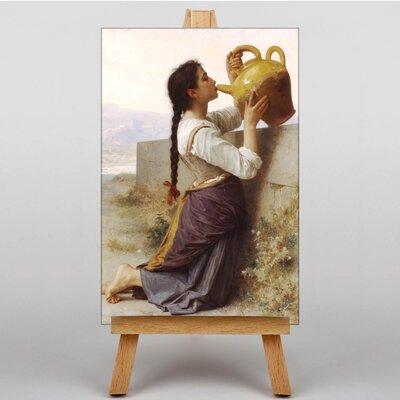 Big Box Art Thirst by William Adolphe Bouguereau Art Print on Canvas