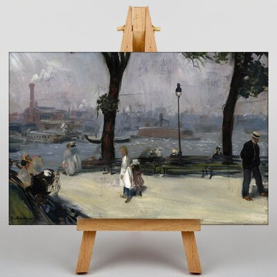 Big Box Art East River Park by William Glackens Art Print on Canvas