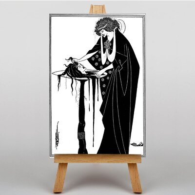 Big Box Art The Dancer's Reward by Aubrey Beardsley Graphic Art on Canvas
