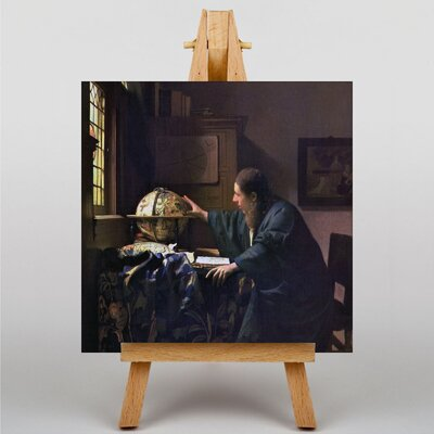 Big Box Art The Astronomer by Johannes Vermeer Art Print on Canvas
