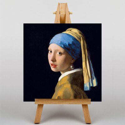 Big Box Art The Girl with the Pearl Earring by Johannes Vermeer Art Print on Canvas