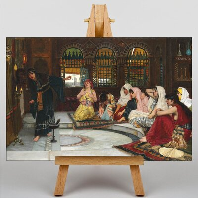 Big Box Art Waterhouse Consulting the Oracle by John William Art Print on Canvas