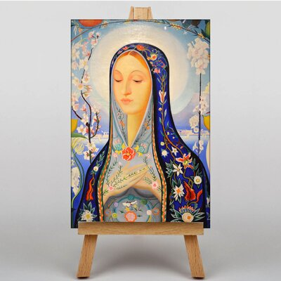 Big Box Art The Virgin by Joseph Stella Art Print on Canvas