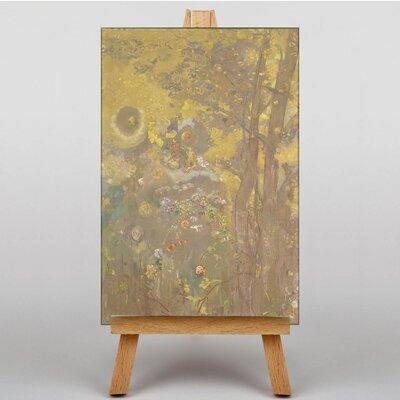 Big Box Art Trees by Odilon Redon Art Print on Canvas