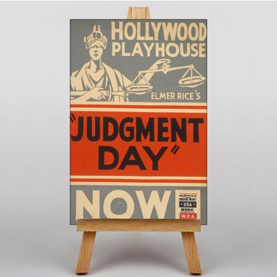 Big Box Art Judgement Day No.3 Vintage Advertisement on Canvas