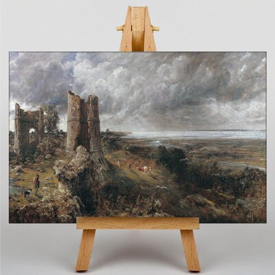 Big Box Art Hadleigh Castle, The Mouth of the Thames by John Constable Art Print on Canvas