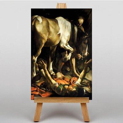 Big Box Art Conversion of St Paul by Michelangelo Caravaggio Art Print on Canvas