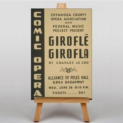 Big Box Art Girofle Girofla Vintage Advertisement on Canvas