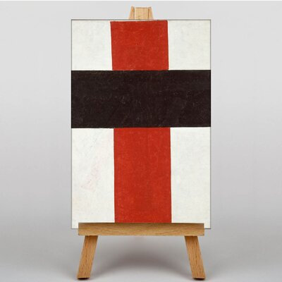 Big Box Art Abstract by Kazimir Malevich Art Print on Canvas