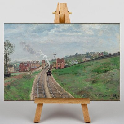 Big Box Art Lordship lane Dulwich by Camille Pissarro Art Print on Canvas
