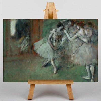 Big Box Art A Group of Dancers by Edgar Degas Art Print on Canvas