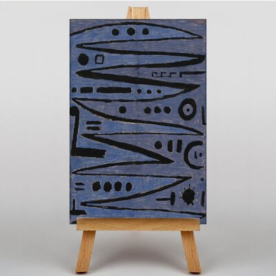 Big Box Art Heroic Strokes of the Box by Paul Klee Art Print on Canvas