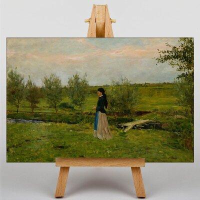 Big Box Art Evening at Pippin by Erik Werenskiold Art Print on Canvas