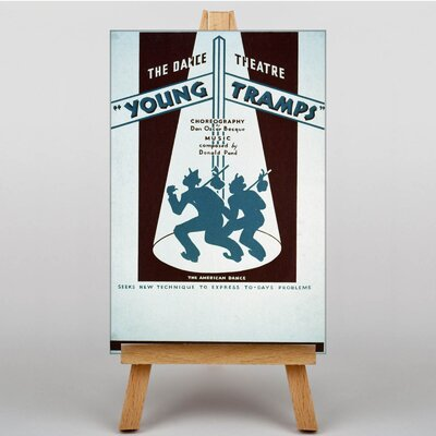 Big Box Art Young Tramps No.2 Vintage Advertisement on Canvas